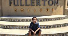 美国富勒顿学院最年轻毕业生 13岁获4个副学士学位