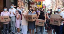 1300万个签语饼派往纽约华埠 鼓励民众参与人口普查
