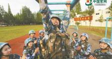"""""""非典型00后""""祁逸菲:清华,女生,海军陆战队员"""