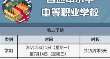 2021年北京中小学春季学期有多长